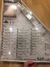 ikea strala snowflake lights (New)