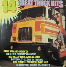 14 GREAT TRUCK HITS  - LP (IMPERIAL)
