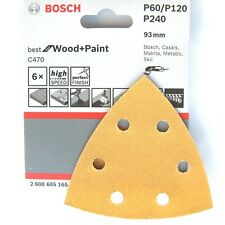 Bosch Multi Tool Sanding Sheets Delta WOOD PAINT PMF180E 190 GOP10.8V GOP250 300