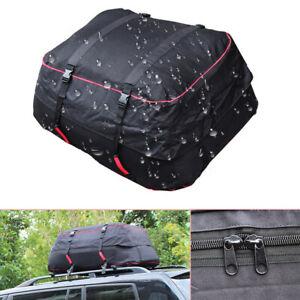 Vehicles Roof Travel Bag Large Capacity Luggage Waterproof Carrier Cargo Hiking