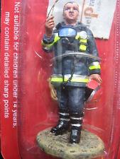 FIGURINE DEL PRADO POMPIER TENUE DE FEU BARCELONE ESPAGNE 2002  FIRE FIGHTER