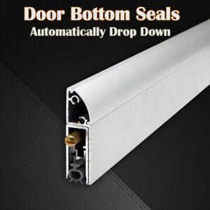 Door Bottom Seals on Door Surface Automatic Drop Down Aluminium Weatherstrips