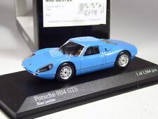 (KI-08-21) Minichamps Porsche 904 GTS blau 1964 in 1:43 in OVP