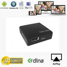 4 in 1 USB Digital AV Adapter FCC EZCast Box HD 1080P HDMI Dongle DLNA Airplay
