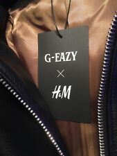 GEAZY H&M RARE COLLECTION LEATHER JACKET LIMITED EDITION COLLAB (mssge me)