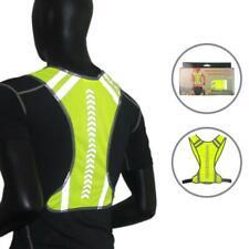 Vest Hi Vis Viz Reflective Visibility Jacket High Waistcoat Work Safety Security