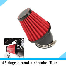 1x Cone Style Air Intake Filter For Motorcycle Air Filter with 48mm Engine Inlet