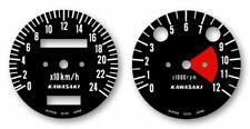 KAWASAKI 500 MachIII  H1 - Mach3 - Sticker compteurs - decals gauge