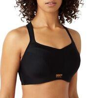 Panache Sports Bra 5021 Black 83% Less Bounce Underwired Maximum Support