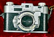 KODAK 35 gear coupled RANGEFINDER 35mm w/field case & strap