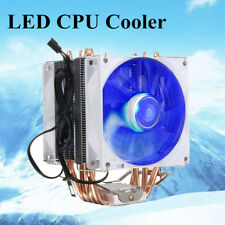 CPU Cooler Fan LED Heatsink for Intel Socket LGA1156/LGA1155/LGA775 AMD AM3