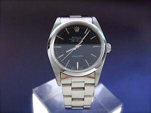 ROLEX Air King 14000 Edelstahl Automatik Herrenuhr Automatic Watch SS Bj 1991