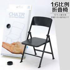 "1/6 Scale Action Figure Folding Chair 7"" for Toys Ultimate Soldier BBI Sideshow"