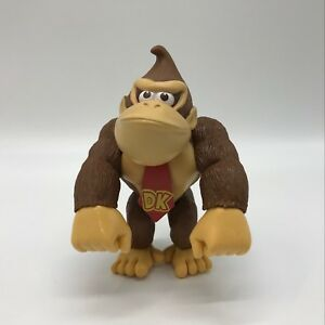 """New Super Mario Bros. Colletible Donkey Kong Doll PVC Plastic Figure Doll Toy 6"""""""