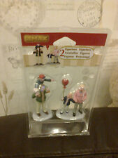 LEMAX FAMILY AT THE CARNIVAL APPROX 8CM TALL 02796 NEW BOXED