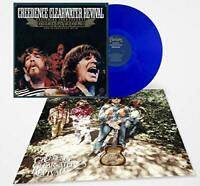 Creedence CCR Chronicles Hits Blue Colored 2 LP Vinyl w/ Poster