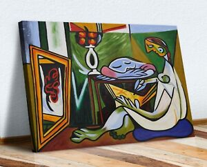 Pablo Picasso The Muse MUSIC CANVAS WALL ART ARTWORK FRAMED PRINT