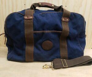 Duluth Pack Medium Safari Duffel Bag Navy Blue 17 x 23 x 11