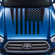 Hood decal for Toyota Tacoma TRD Sport USA Flag style Sticker Graphics