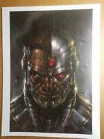 Cyborg Villain Art Print DC Comics Poster by Lucio Parrillo