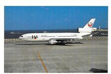 Postcard McDonnell Douglas DC-10-40 D Japan Airlines - JAL @ Okinawa-Naha 11/90