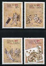 Macau Macau 1989 Trad. Spiele Games 624-27 Postfrisch MNH