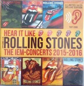 ROLLING STONES The IEM concerts 2015 2016 box 14 CD limited edition new