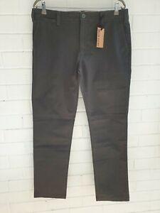 NWT RRP $119.00 Drizabone Mens Panton Chino Long Pant Relaxed Fit Size 36L