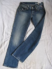Replay Damen Blue Jeans Denim Baggy W24/L32 low waist regular fit bootcut leg