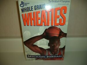 MICHAEL JORDAN 1993 WHEATIES BOX COLLECTORS EDITION FULL CHICAGO BULLS