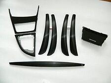 Dekorleisten Interieurleisten Hochglanz Schwarz Folien passend für 1er BMW E81