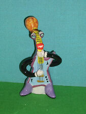 Electric Guitar Ceramic Christmas Ornament or Figure by Ed Sussman Retired Last1