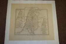 JUDAICA JEWISH MEASURES 2000 AMMA  MAP OF PALESTINE PALESTINA PUBLISHED 1794