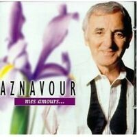 CHARLES AZNAVOUR - MES AMOURS  CD  21 TRACKS FRENCH POP  NEW