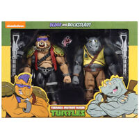 Teenage Mutant Ninja Turtles BEBOP & ROCKSTEADY Figures NECA Box Set 2020 New