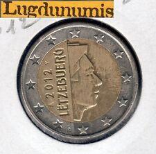 LUXEMBOURG 2012 - 2 Euro - pièce neuve de rouleau - Sous pochette HB  LUXEMBOURG