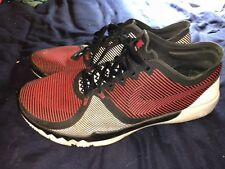 Nike Free Training - RED. Cross Training (Men's 11) Black White