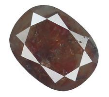 Natural Loose Diamond Red Brown Color Cushion I3 Clarity 7.50 MM 1.28 Ct L4556