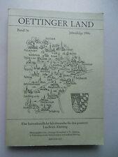 Oettinger Land Bd. 16 Jahresfolge 1996 heimatkundliche Schriftenreihe Altötting