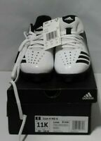 NEW Adidas Unisex Icon 4 Md K Baseball Cleats Youth Size 11 K White/Black G26698