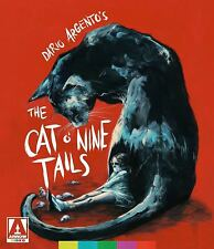 The Cat O' Nine Tails, Dario Argento, Arrow Limited Edition Blu Ray Dvd, Box Set