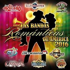 Various Artists - Las Bandas Romanticas de America 2016 [New CD]