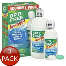 Opti- Replenish Contact Lens Solution Economy 300ml With 120ml