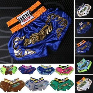 Anotherboxer Children Adult Muay Thai Boxing-Shorts MMA Fight Training Grappling