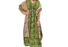 Women's New Floral Elephant print Long kaftan dress african style 12 to 24 fit