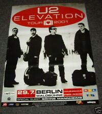 U2 German Tour Poster Berlin