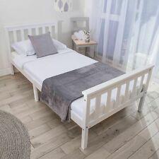 Single Bed 3ft Solid Wooden Frame - wooden