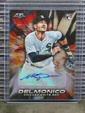 2018 Topps Fire Nicky Delmonico Auto Autograph Rookie RC #FA-ND White Sox E256