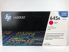 Genuine New OEM HP C9733A 645A Magenta LaserJet 5550 5500 Toner Cartridge Sealed