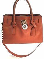 Michael Michael Kors Hamilton East West Leather Satchel Bag  BAG HANDBAG